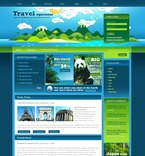 Travel PSD  Template 50217