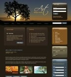 Web design PSD  Template 50218