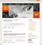 Charity PSD  Template 50222