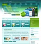 Web Hosting PSD  Template 50229