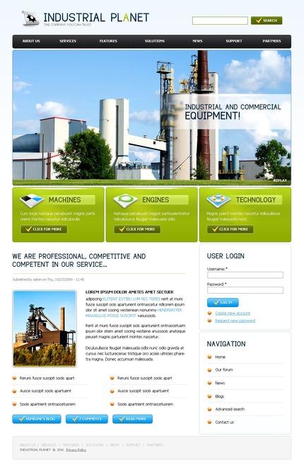 PSD макет сайта №50239