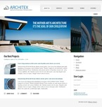 Architecture PSD  Template 50243