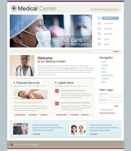 PSD макет сайта №50246