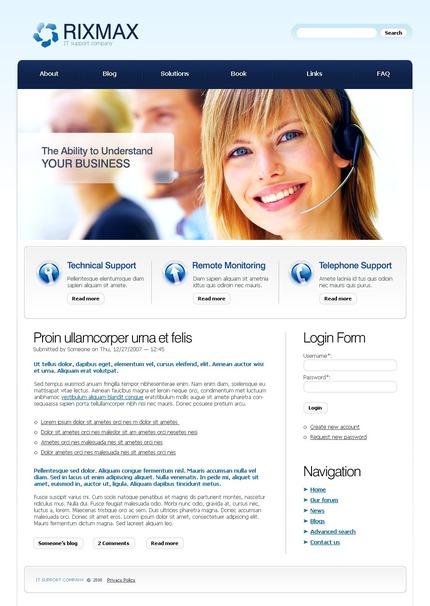 PSD макет сайта №50254