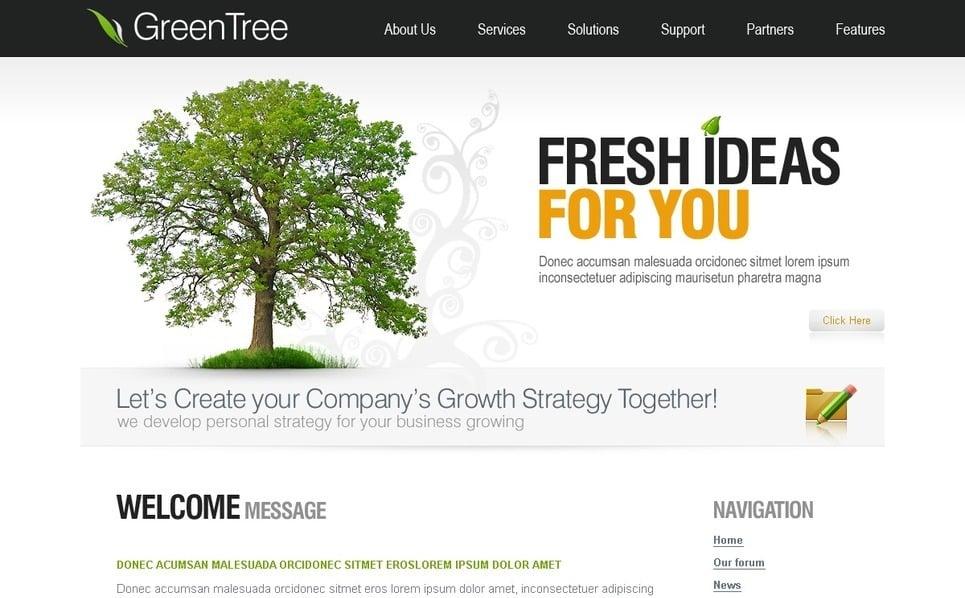 Plantilla PSD #50259 para Sitio de Negocio y Servicios New Screenshots BIG
