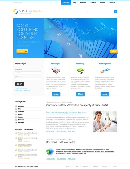 Website Template #50286