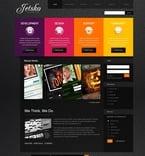 Web design PSD  Template 50296
