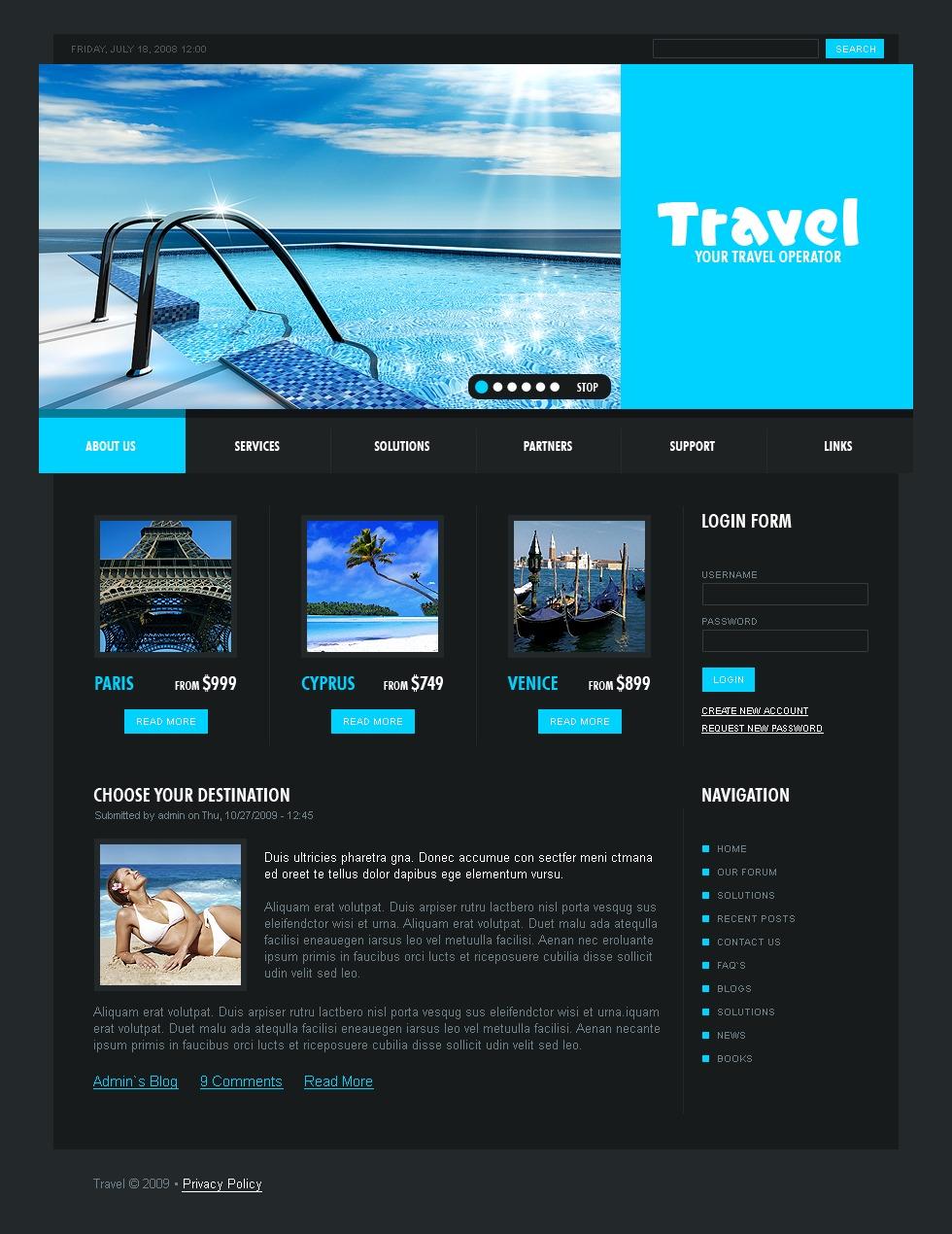 travel agent templates