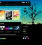 Web design PSD  Template 50301