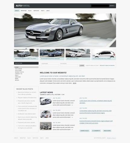 PSD макет сайта №50305