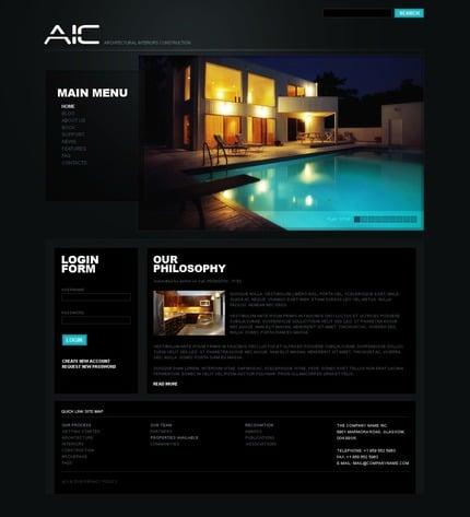 PSD макет сайта №50321