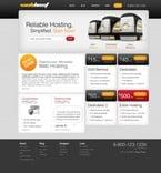 Web Hosting PSD  Template 50324