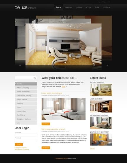 PSD макет сайта №50326