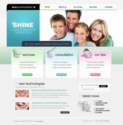 PSD макет сайта №50332
