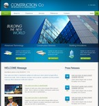 Architecture PSD  Template 50335