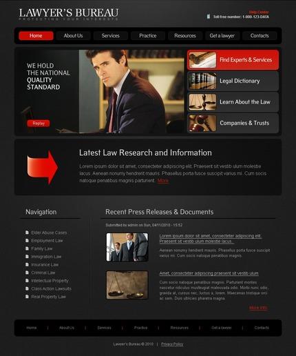 PSD макет сайта №50337