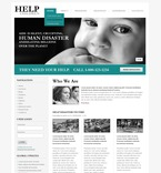 Charity PSD  Template 50349