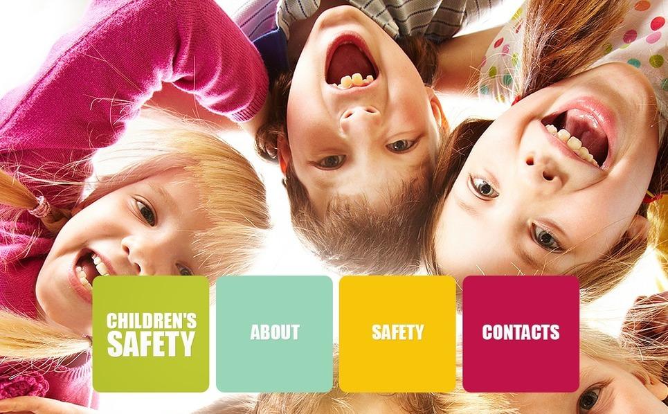 Gyermekmentő alapítványok PSD sablon New Screenshots BIG