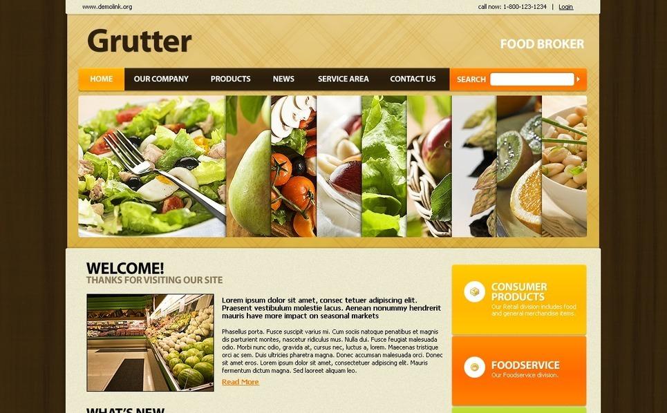 PSD šablona Obchod s potravinami New Screenshots BIG