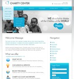 Charity PSD  Template 50381