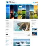Travel PSD  Template 50386