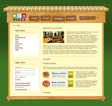 PSD макет сайта №50394
