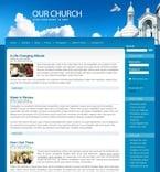 Religious PSD  Template 50395