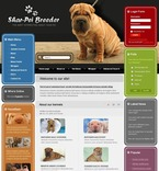 Animals & Pets PSD  Template 50409