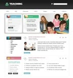 Education PSD  Template 50414