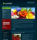 Flowers PSD  Template 50419