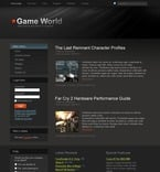 Games PSD  Template 50420