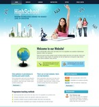 Education PSD  Template 50424