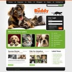 Animals & Pets PSD  Template 50426