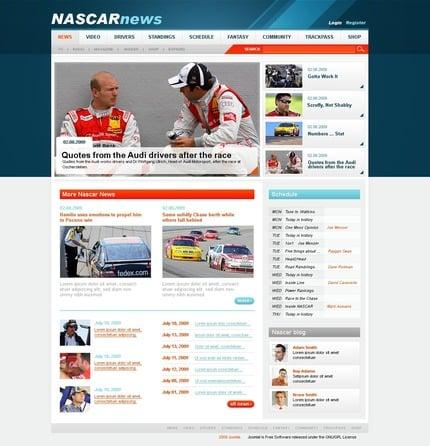PSD макет сайта №50428