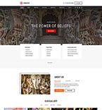 Religious Website  Template 50441