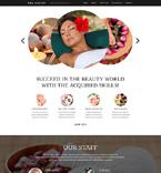 Beauty Website  Template 50444