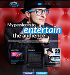 Personal Page Website  Template 50451