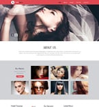 Fashion Website  Template 50453