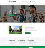 Education Website  Template 50454