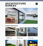 Architecture Website  Template 50455