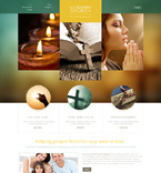 Religious WordPress Template 50457