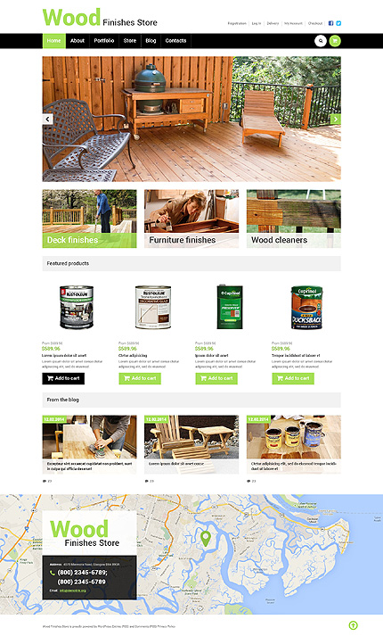 ADOBE Photoshop Template 50471 Home Page Screenshot