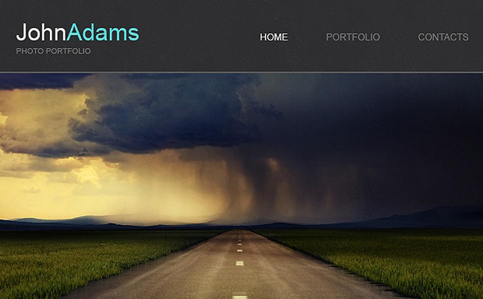 Адаптивний Шаблон E-mail розсилки на тему портфоліо фотографа  New Screenshots BIG