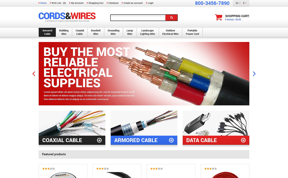 Responsive OpenCart Template over Elektronicawinkel  New Screenshots BIG