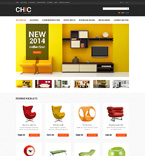Furniture OpenCart  Template 50480