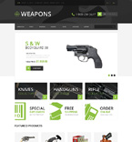 Military OpenCart  Template 50481