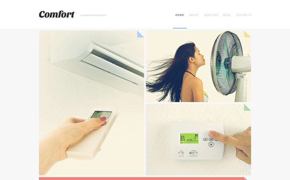 Responsive Joomla Template over Airconditioning  New Screenshots BIG