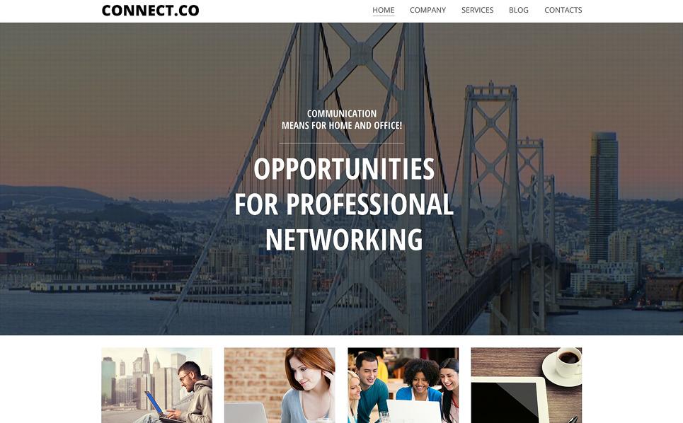 Responzivní WordPress motiv na téma Internet New Screenshots BIG