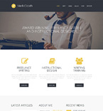 Personal Page WordPress Template 50495