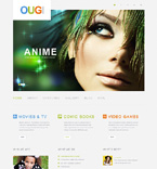 Entertainment WordPress Template 50496